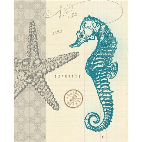 Carte d'art étoile de mer