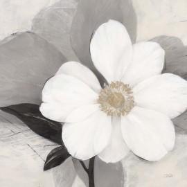 Carte d'art fleur blanche