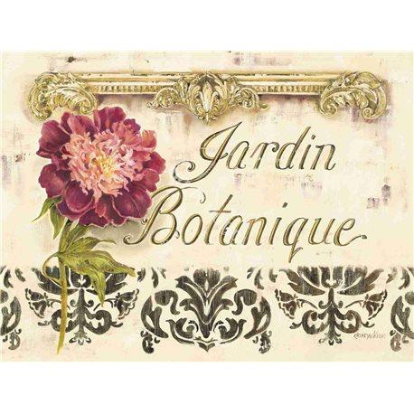 Carte d'art jardin botannique Kathryn White