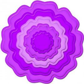 Dies découpe gaufrage fleur en 3D Nestabilities Spellbinders