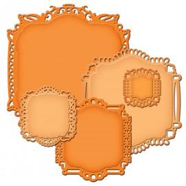Dies découpe gaufrage étiquettes décoratives 22 Nestabilities Spellbinders
