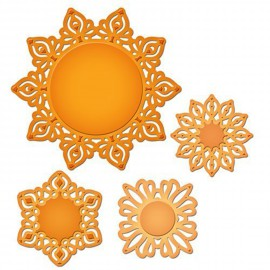 Dies découpe gaufrage motifs persans Shapeabilities Spellbinders