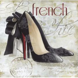 Carte d'art chaussures louboutin
