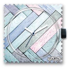 Montre Stamps cadran de montre floor