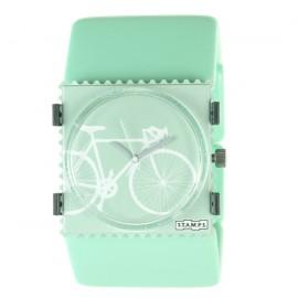 Montre Stamps bracelet de montre ice cream vert menthe