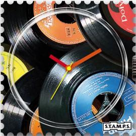 Montre Stamps cadran de montre vinyl