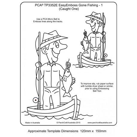 Template gabarit parchemin pêcheur à la ligne 1
