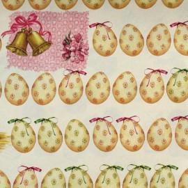 Papier tassotti motifs oeufs de pâques
