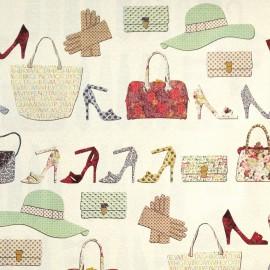 Papier tassotti motifs chaussures et accessoires