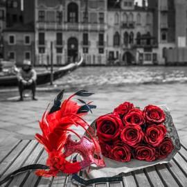 Affiche Paris Assaf Frank Venise masque
