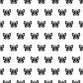 Classeur gaufrage fond papillons Nellie Snellen