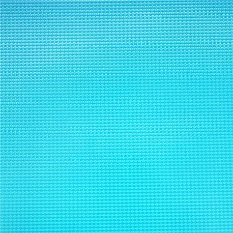 Papier vinyl hype bleu turquoise