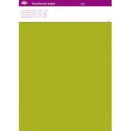 Pergamano papier parchemin translucent citron vert 63006