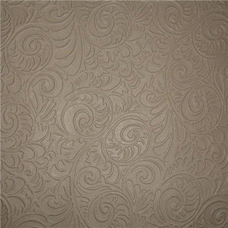 Papier fantaisie zelda arabesques taupe