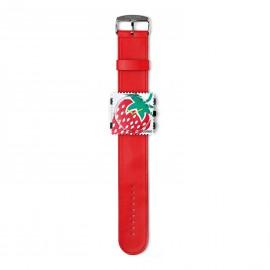 Bracelet de montre Stamps rouge
