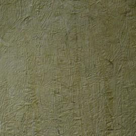 Papier fantaisie froissé vert