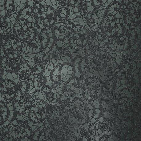 Papier simili cuir calabria bleu nuit 70x100cm