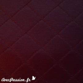 Papier simili diamond aubergine 50x70cm