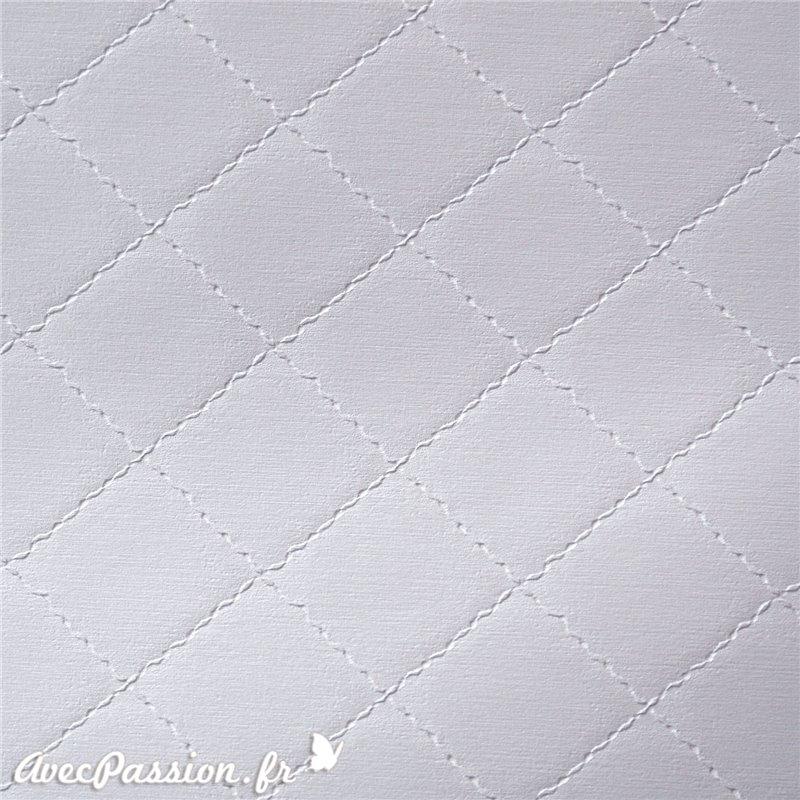 papier simili cuir pour cartonnage skivertex diamond gris perle grand format. Black Bedroom Furniture Sets. Home Design Ideas