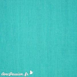 Papier simili cuir kashmir bleu turquoise