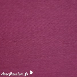 Papier simili cuir kashmir framboise
