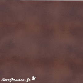 Papier simili cuir pelle ecologiga pony cacao