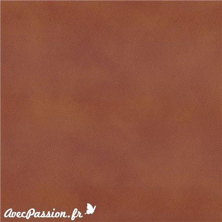 Papier simili cuir pelle ecologiga pony roux