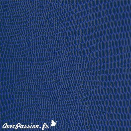 papier-skivertex-cuir-lezard-bleu-papier-cartonnage-meuble-carton