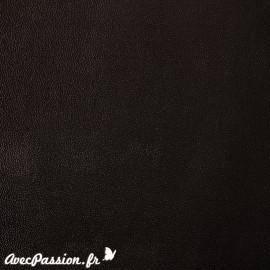 Papier Skivertex simili cuir mallory noir