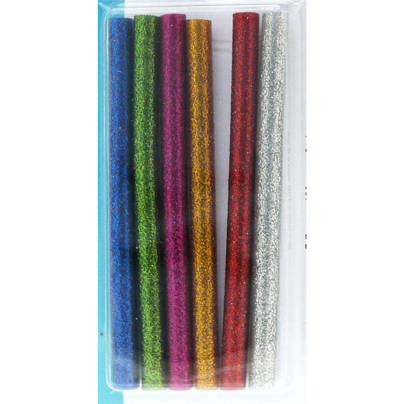 Colle en baton couleur paillettes mini pistolet artemio 6 recharges - Baton de colle pour pistolet ...