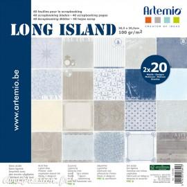 Papier scrapbooking assortiment long island 20fe