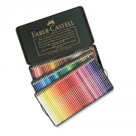 Boite de 120 crayons Faber Castell polychromos boite métal