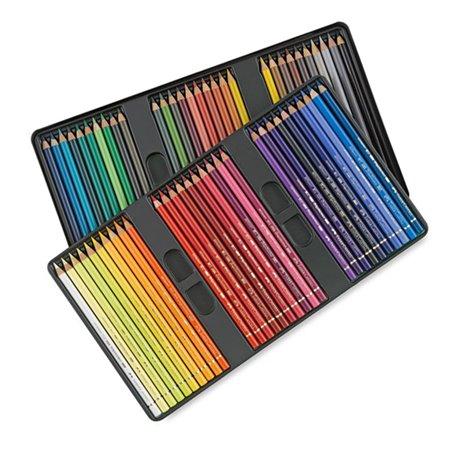 Boite de 60 crayons Faber Castell polychromos boite métal
