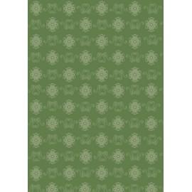 Pergamano paquet papier parchemin verts rosette 61833 5 feuilles // Ce produit n'est plus fabriqué