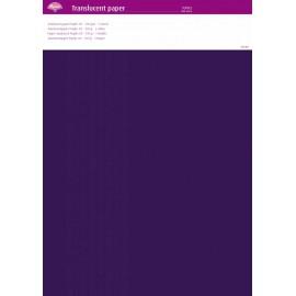 Pergamano papier parchemin translucent violet purple 63016