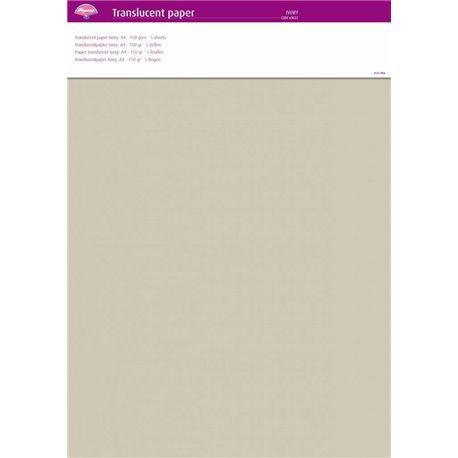 Pergamano papier parchemin translucent ivoire 63022