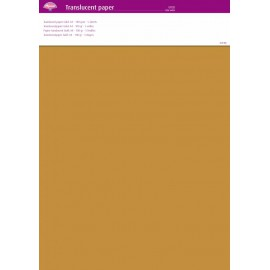 Pergamano papier parchemin translucent or 64003