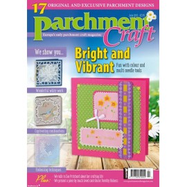 Parchment Craft magazine Pergamano juillet 2015 Bright an Vibrant