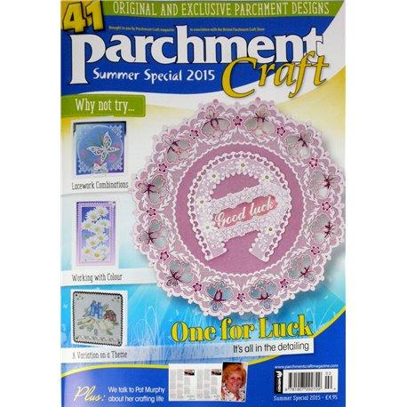 Parchment Craft magazine Pergamano spécial été 2015