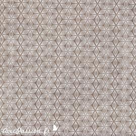 Papier népalais lokta alba marron et blanc