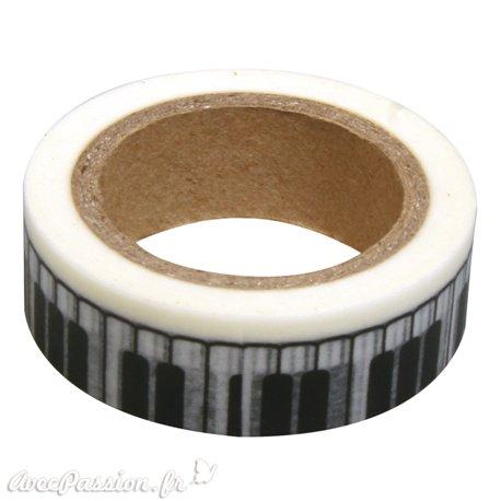 Masking tape touches de piano ruban papier adhésif washi