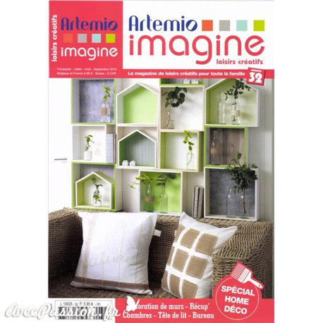Magazine Artemio Imagine n°32 juillet aout sept 2015