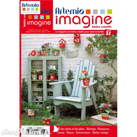 Magazine Artemio Imagine n°31 avril mai juin 2015
