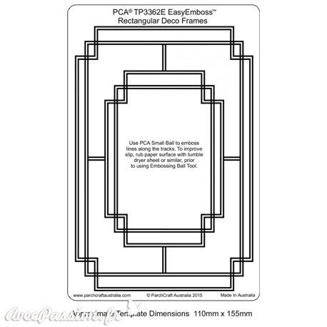 Template gabarit parchemin cadre rectangle