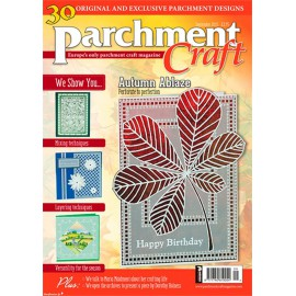 Parchment Craft magazine Pergamano septembre 2015 Kingfisher on the Bank