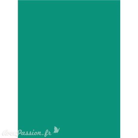 Siesta papier parchemin turquoise A4 10fe A405
