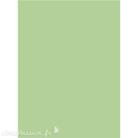 Siesta papier parchemin vert tendre A4 10fe A406