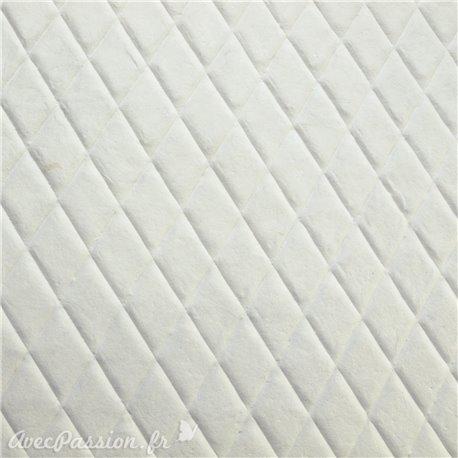 Papier fantaisie inflate blanc