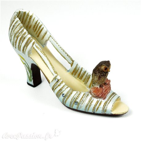 Chaussure miniature collection chouette