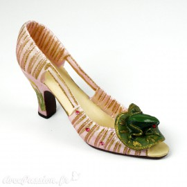 Chaussure miniature collection grenouille